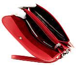 Женский клатч Karya 1121-46 кожаный красный, фото 5
