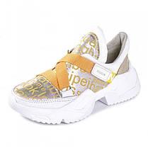 Кроссовки с желтыми ремешками 930-04, фото 2