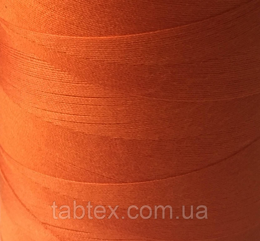 Швейна нитка №50(20/2)№А 525 помаранчевий (4000ярд.)китай