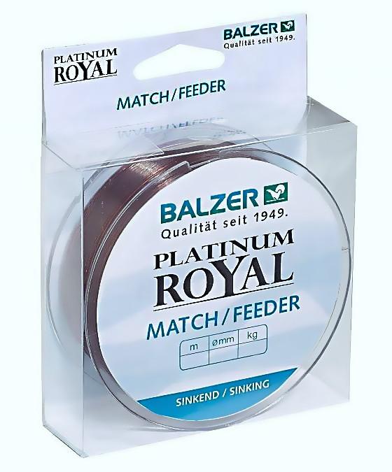 Леска Balzer Platinum Royal  Match/Feeder 0.20мм  200м  3.80кг тонущая