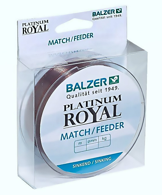 Волосінь Balzer Platinum Royal Match/Feeder 0.25 мм 200м 5.20 кг потопаюча