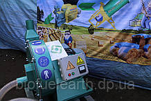 Дробилка молотковая, самовсасывающая 22квт / 2200кг.час. «Биоэкопром».