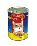 Преимущества кошачьих консерв тео