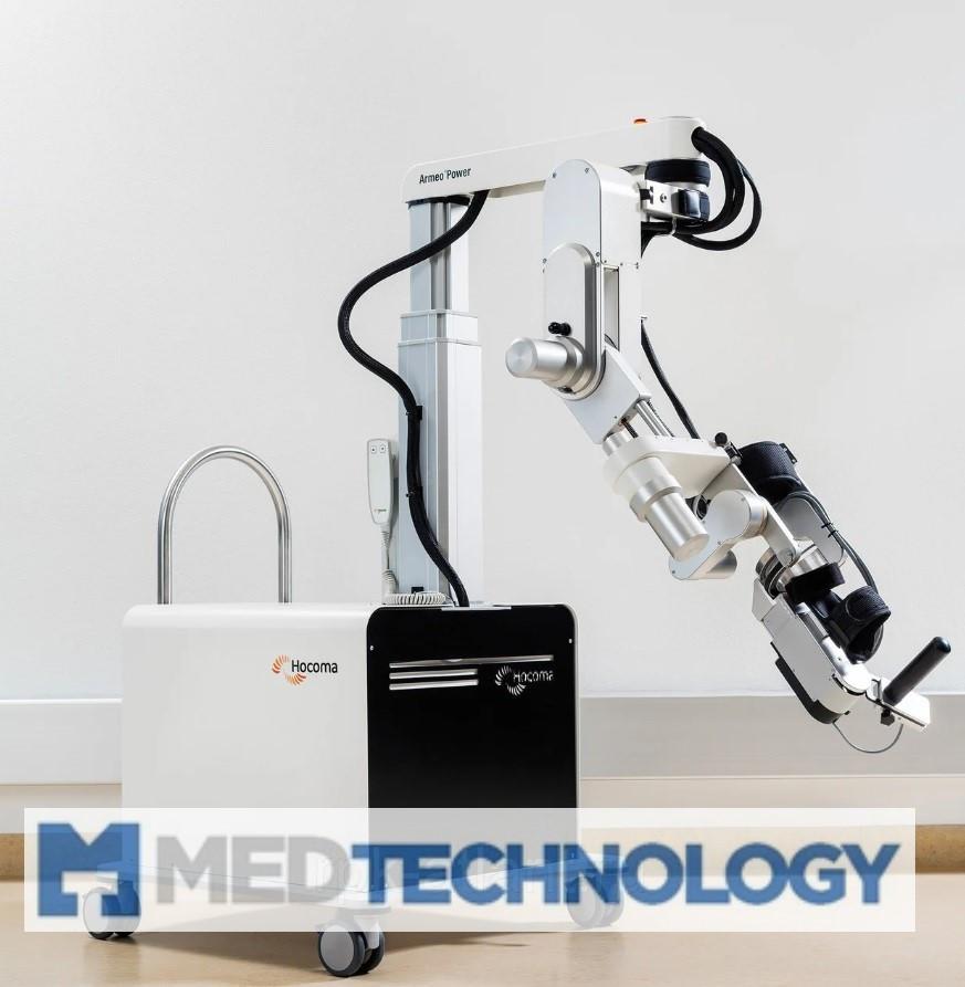 ARMEO POWER (Hocoma) Роботизированный реабилитационный комплекс для терапии верхних конечностей