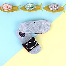 Дитячі Шльопанці на хлопчиків пляжне взуття тм Giolan розмір 26,28,30,31,32,34, фото 2