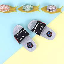 Дитячі Шльопанці на хлопчиків пляжне взуття тм Giolan розмір 26,28,30,31,32,34, фото 3
