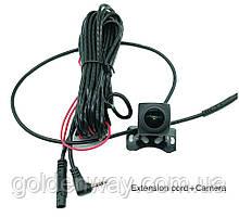 Камера заднего вида с кабелем для зеркала Android 8.1 с 4G (Junsun и др) Штекер 2,5мм, 4 контакта 4 pin