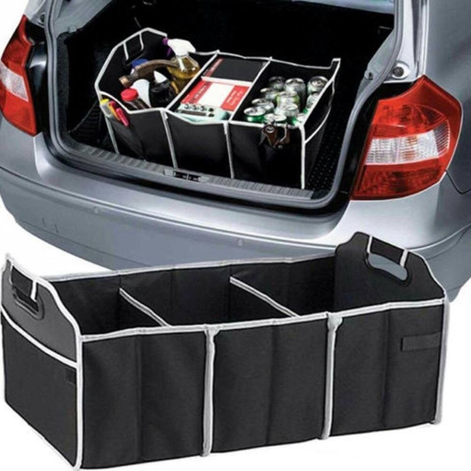 Складной дорожный органайзер для багажника автомобиля