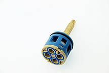 Картридж для смесителя душевой кабины на четыре ( 4 ) положения с латунным штоком диаметром 37 мм., фото 2