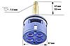 Картридж для смесителя душевой кабины на четыре ( 4 ) положения с латунным штоком диаметром 37 мм., фото 5