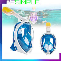 Маска для подводного плавания EasyBreath / Маска для дайвинга, снорклинга
