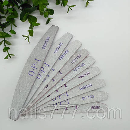 Пилка для ногтей OPI 220/320 грит, фото 2