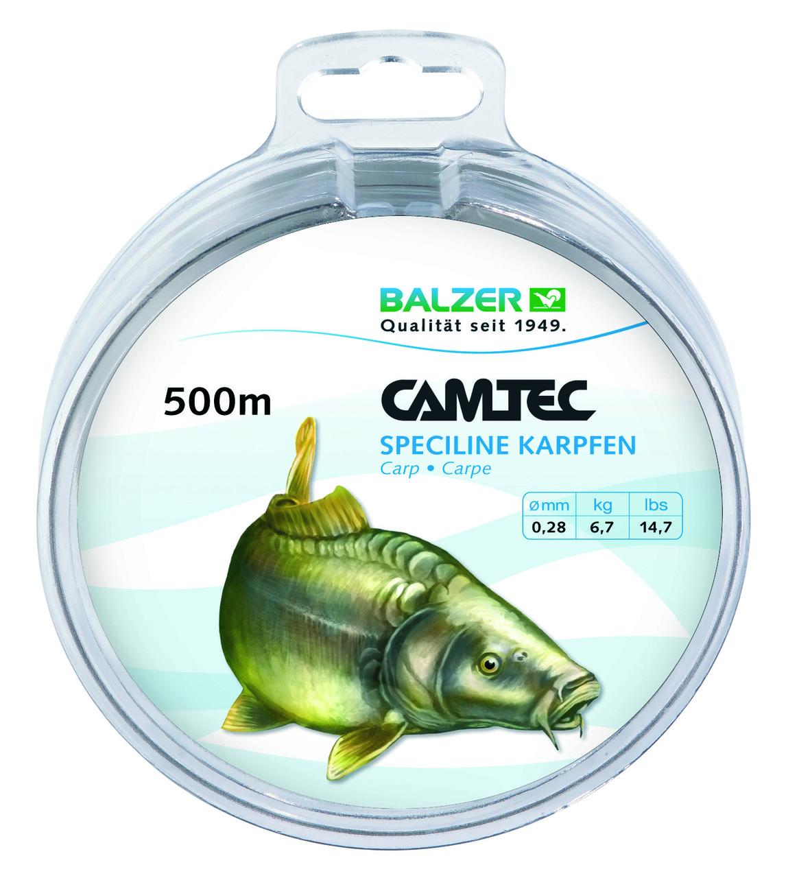 Леска Balzer Camtec карп 0.25мм. 500м.