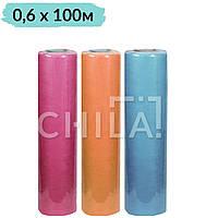 Простыни одноразовые (20 г/м²) 0,6х100м Econom Цветные (20 г/м²)