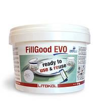 Затирочная смесь Litokol FillGood EVO FGEVONGR0005 140 NERO GRAFITE 5 кг