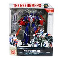 "Робот трансформер Оптимус Прайм ""The Reformers""scn"