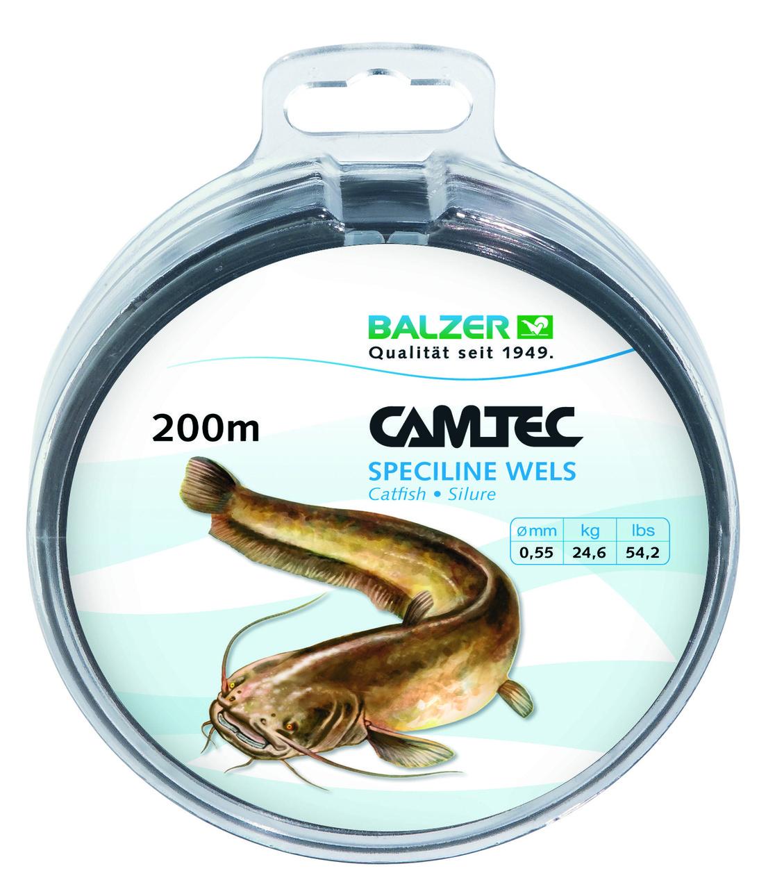 Леска Balzer Camtec сом 0.55мм. 200м.