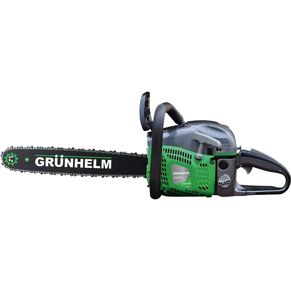 Бензопила Grunhelm GS62-18 (4.8 л.с., шина 45 см)