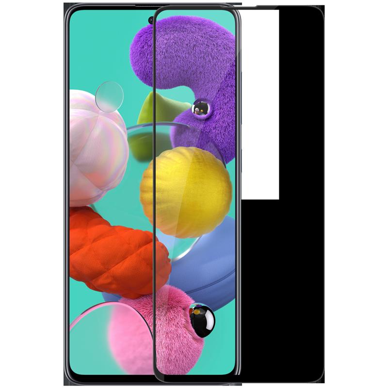 Nillkin Samsung Galaxy A51 3D CP+MAX Anti-Explosion Glass Screen Protector Black Защитное Стекло