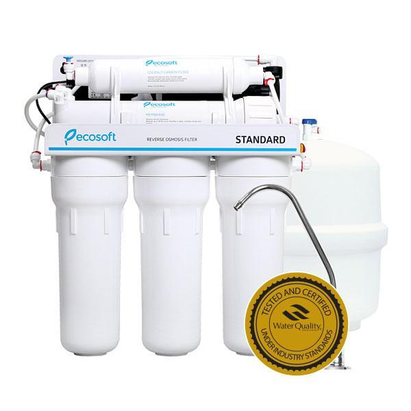 Бытовые фильтры обратного осмоса Ecosoft Standard 5-50P з помпою