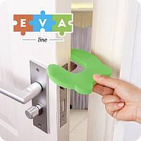 Стопор двери (Защита на двери для детей) Eva-Line 105*100*15 мм