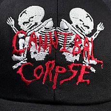 Бейсболка CANNIBAL CORPSE Скелеты, фото 3