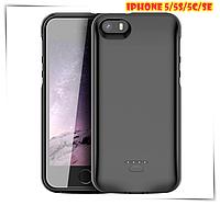 Портативная батарея DT-12 для iPhone 5/5s/se Чехол зарядка аккумулятор для айфона 4200 мАч + ПОДАРОК