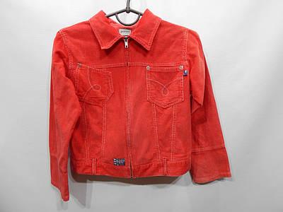 Куртка детская легкая микровельвет girls, рост 122-128, 8-9лет  047д