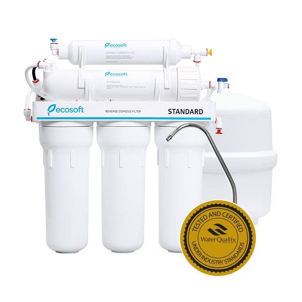 Бытовые фильтры обратного осмоса Ecosoft Standard 5-50