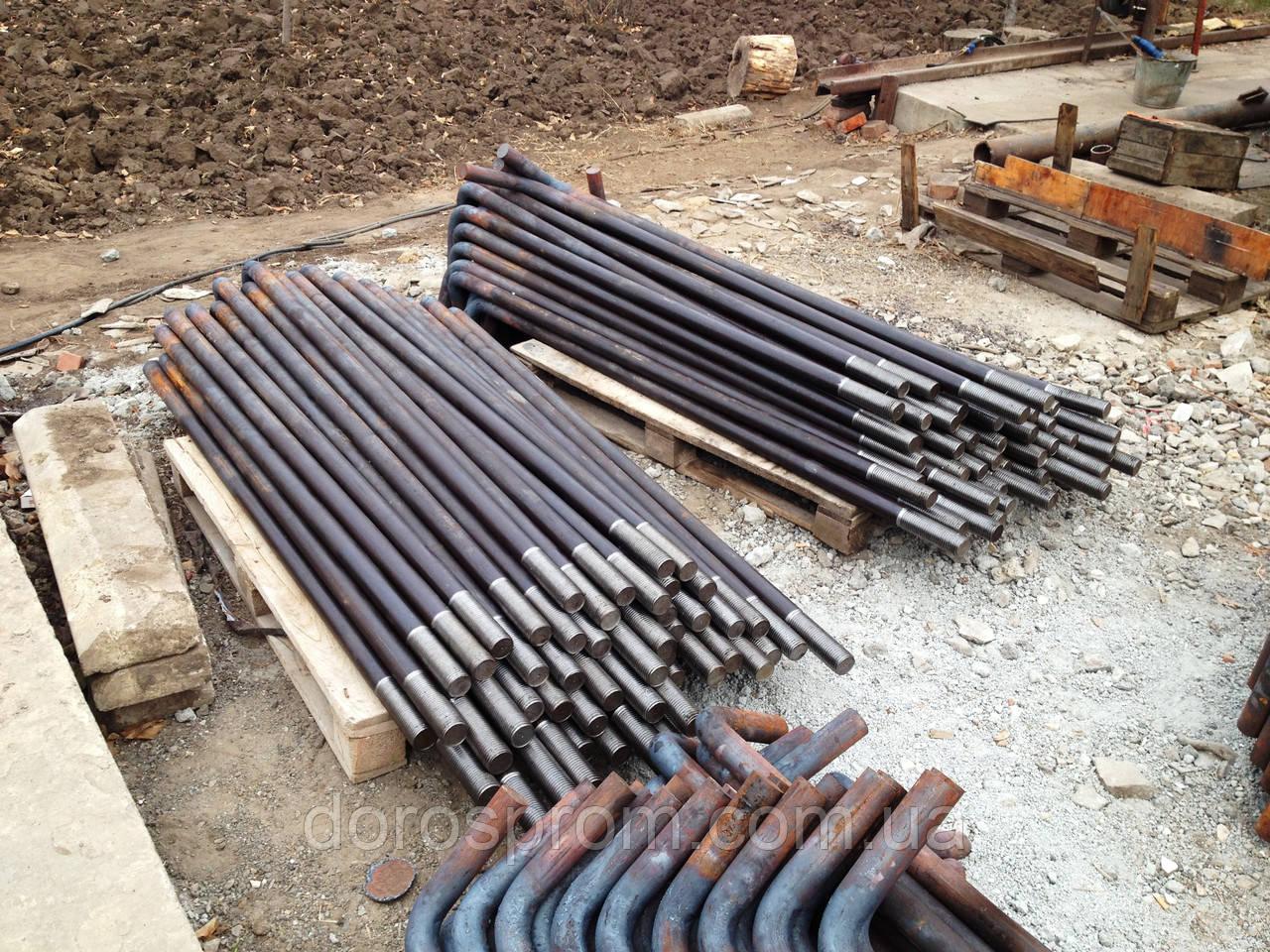 Болты фундаментные(строительные)  ГОСТ 24379. 1-80