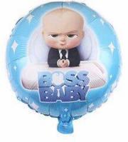 """Круглый шар """"Baby Boss"""" 18 дюймов"""