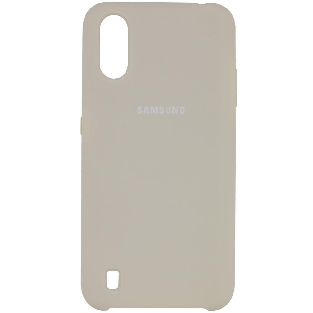 Чехол Silicone Cover (AA) для Samsung Galaxy A01