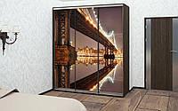 Шкаф купе 04 2200х600х2200 Алекса мебель, фото 1