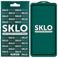 Защитное стекло SKLO 5D (full glue) для Samsung Galaxy A51