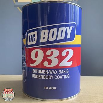 Антикорозійна бітумно-воскова мастика HB BODY 932, 4 кг