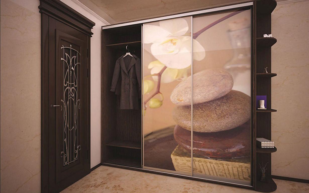 Шкаф купе 04 2100х450х2200 Алекса мебель