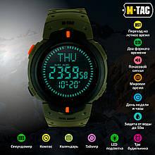 M-Tac часы тактические с компасом Olive