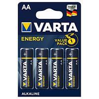 Щелочные батарейки Varta Energy 4106 АА/LR6 блистер 4 шт.
