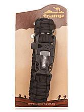 Браслет выживания Tramp Black (TRA-232-black)