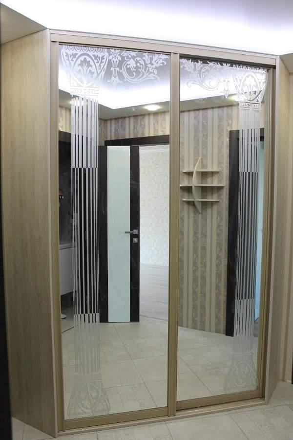 Шкаф купе Угловой 1300х1300х2200 Алекса мебель