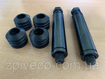 Ремкомлект тормозного суппорта переднего IVECO (болты, направляющие втулки, пыльники) (10-01-04-0378/93161759), фото 2