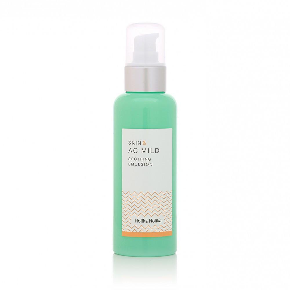 Успокаивающая эмульсия для проблемной кожи лица Holika Holika Skin and AC Mild Soothing Emulsion 130 мл