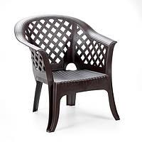 Кресло Lario коричневое