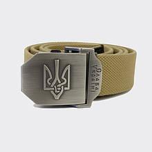 Ремінь з Гербом України - хакі
