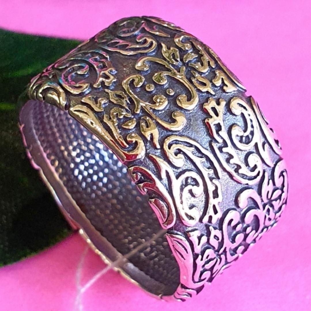 Широке срібне кільце без каменів Візантія - Жіноче кільце з срібла