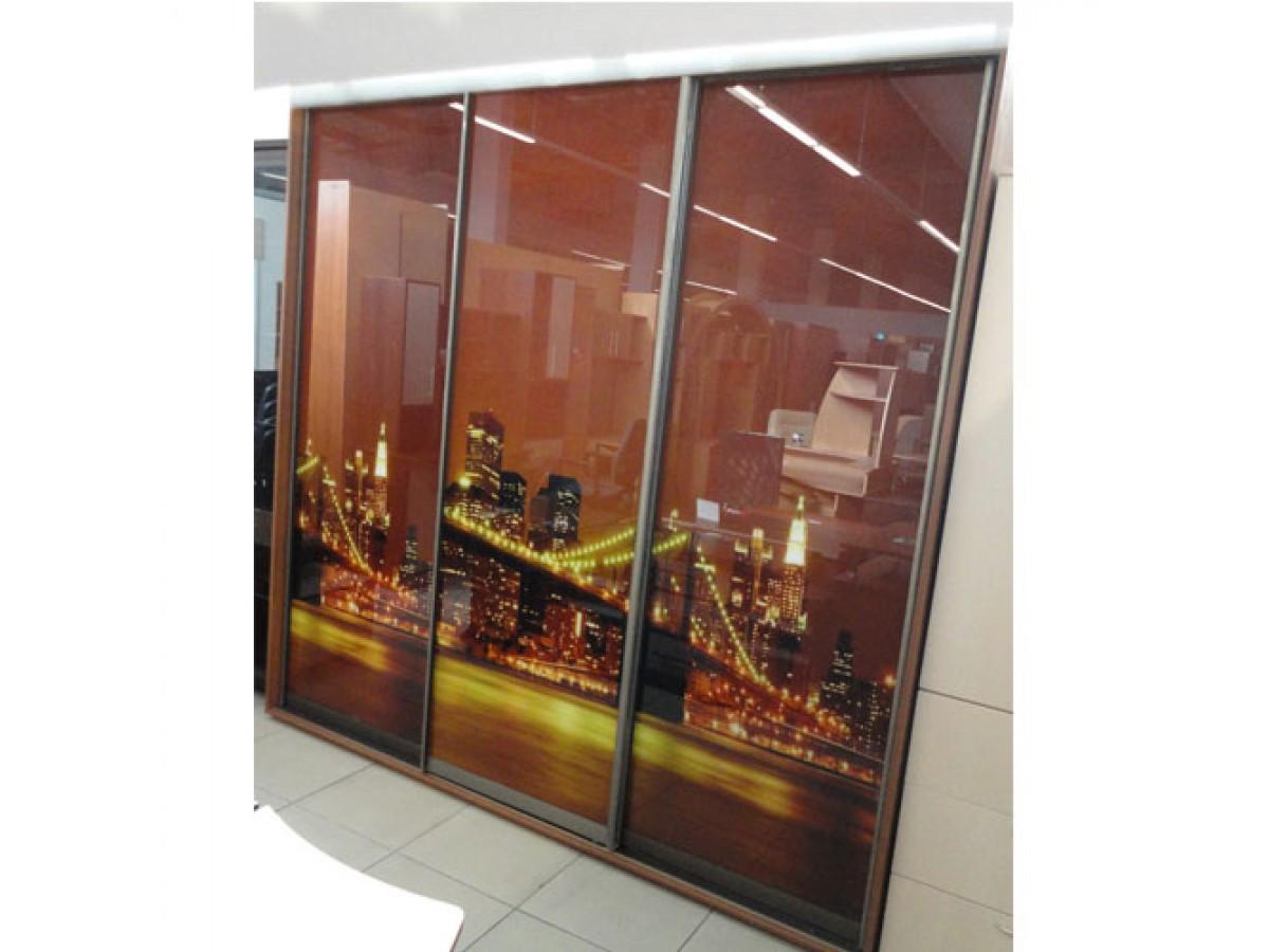 Шкаф купе 05 2100х600х2400 Алекса мебель