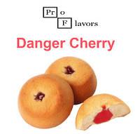 Жидкость Pro Flavors Danger Cherry (Вишня с печеньем) 100 мл.