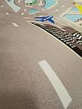 """Бесплатная доставка! Ковер в детскую """"Сити""""  утепленный коврик мат (1.5*2 м), фото 3"""