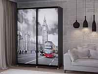 Шкаф купе 02 1600х450х2400 Алекса мебель, фото 1