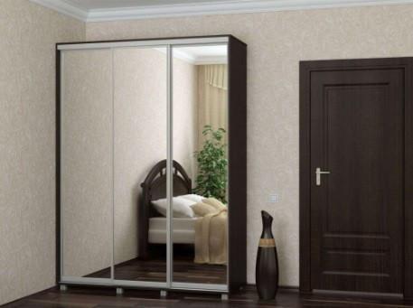 Шкаф купе 04 2400х450х2400 Алекса мебель